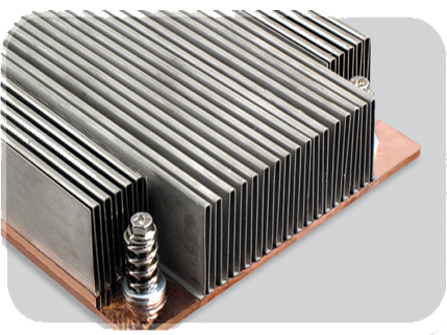 Folded Fin Heatsinks